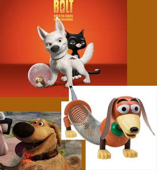 perros de dibujos animados